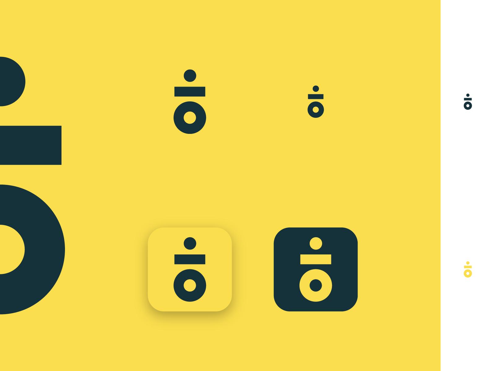 .IO app icon identity logo branding dotio io clean simple