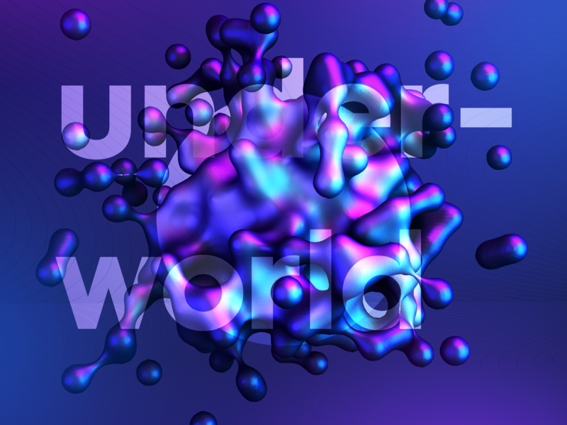 Underworld gradient c4d underworld born slippy rebound studiojq madebystudiojq