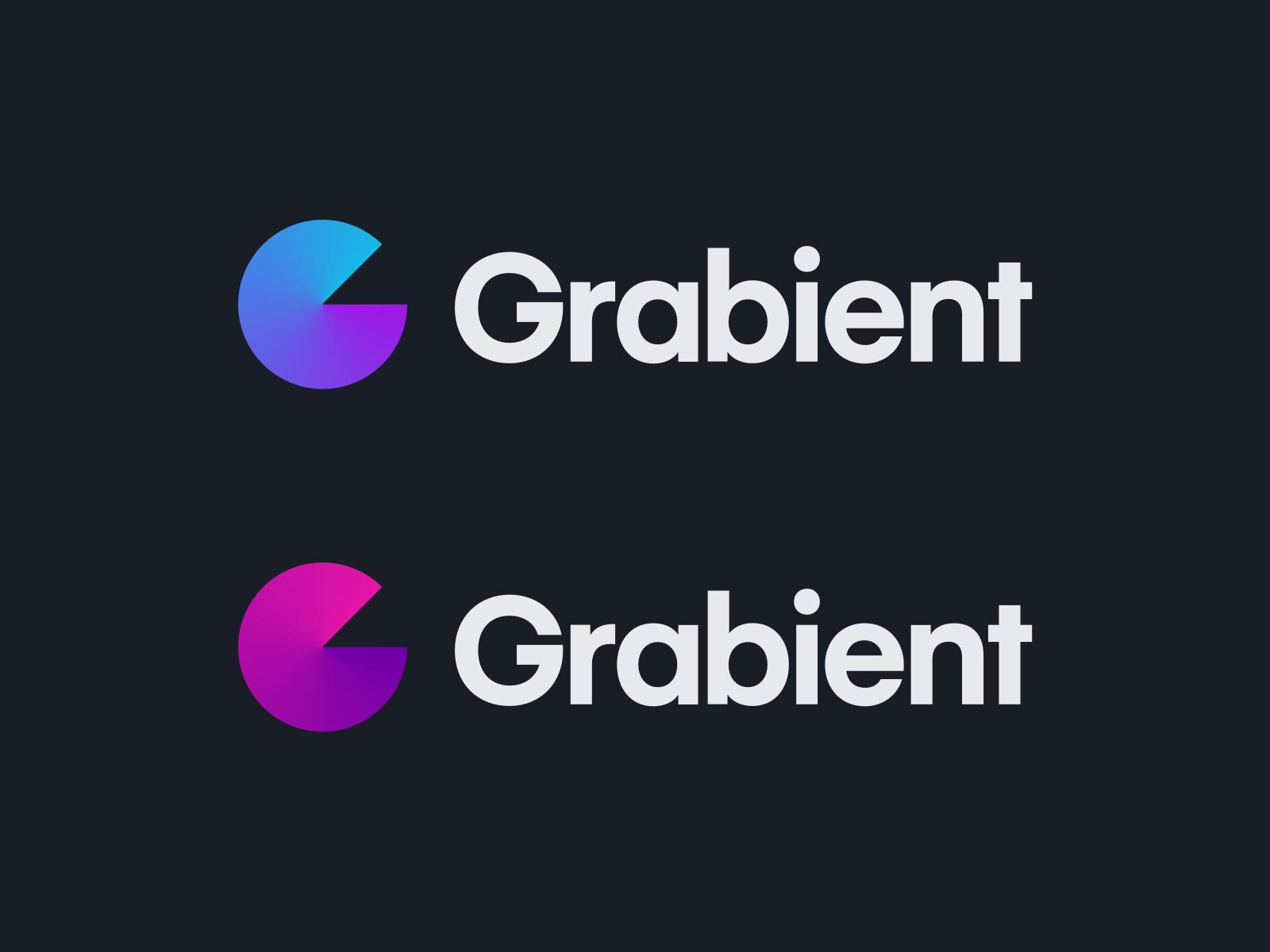 Grabient logo branding identity gradient grabient