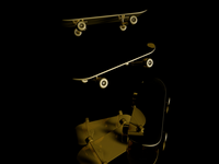 Holy Golden Skateboard