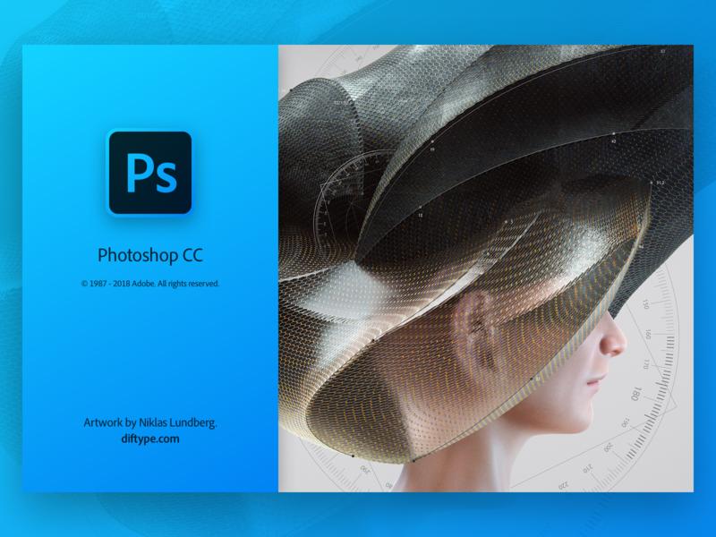 Photoshop Splash iconography app icon icon creative cloud photoshop adobe user inteface ui