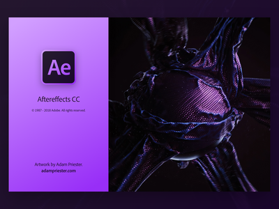 Ae Splash gradient creativecloud adobe aftereffects user interface ui