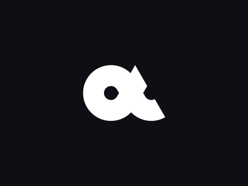 Alpha alpha identity branding logo
