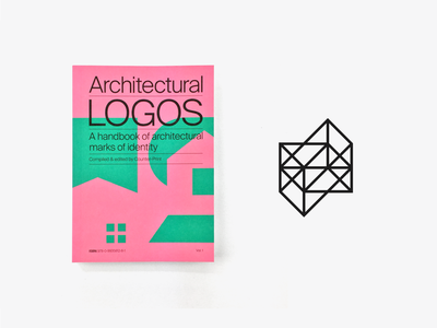 Architectural Logos published branding logo design logo identity counter print books structure f architectural