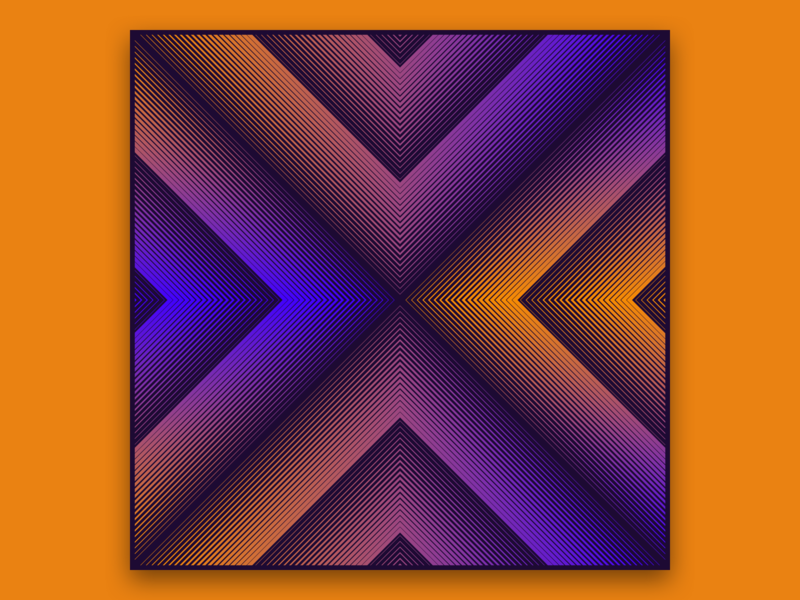 X typography 36 days of type lettering 36 days of type gradient
