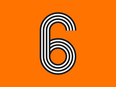 6 typography 36 days of type lettering 36 days of type six 6