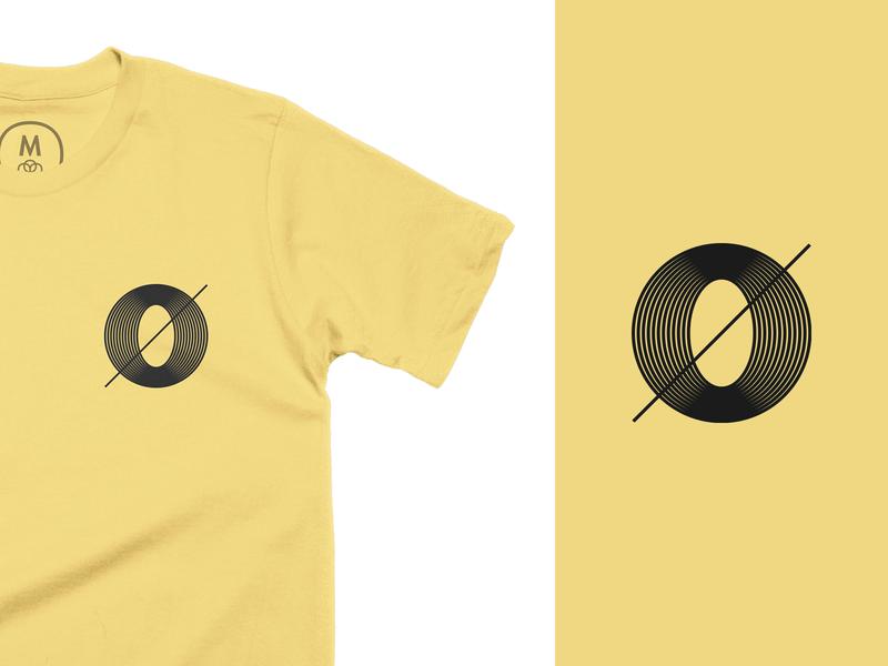 Zero T-Shirt cotton bureau t-shirt t-shirt design tshirt design tshirt 0 zero typography geometric