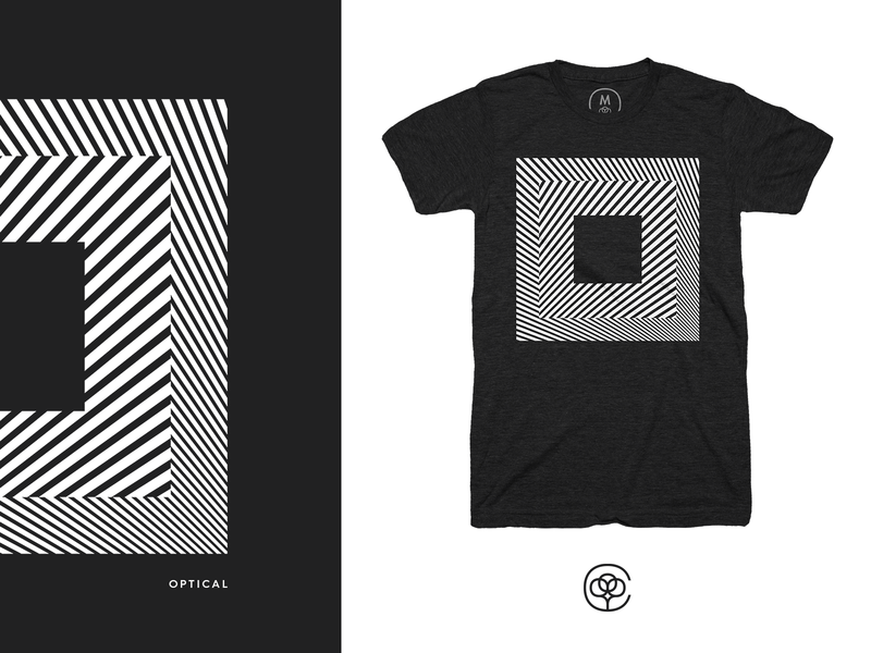 Optical Dillusion creative design optical illusion t-shirt t-shirt design tshirt design apparel