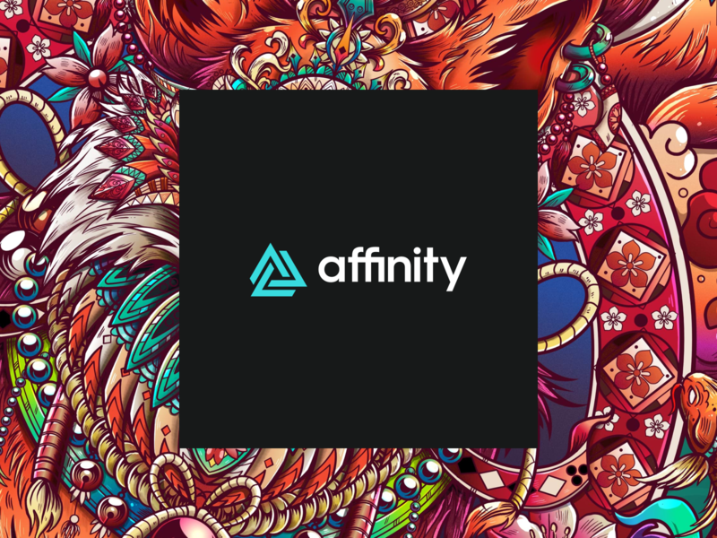 Affinity infinity penrose triangle logo identity branding vectors vector affinity designer affinitydesigner