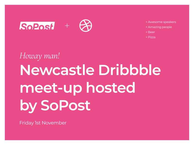 Newcastle Dribbble Meet-up