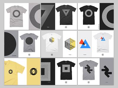 T-Shirts cotton bureau clothing tshirts apparel design apparel abstract geometric