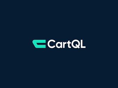 CartQL shopping basket ecommerce letter c c commerce cart logo