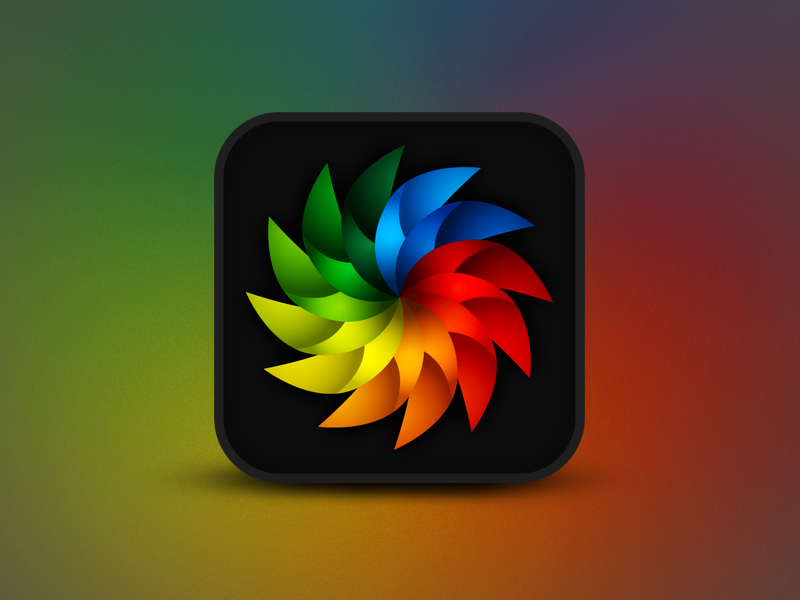 Social Base Icon sharing concept idea connection connecting spinning fan one for all all for one colourful branding logo social base links social icon app
