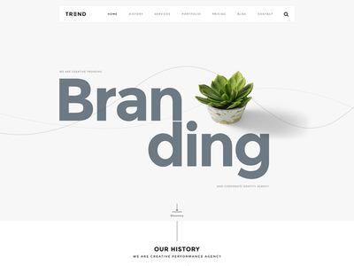 Trend Creative Concept trend minimalist wordpress simple creative concept