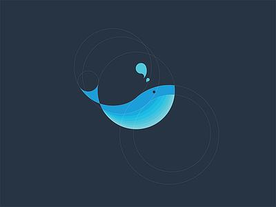 Whale Logo animal animal logo logo