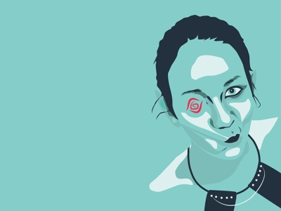 loreatus CI Design Project - Portrait illustration branding graphic design vectorart illustrator portrait illustration vector illustration portrait art vector portrait
