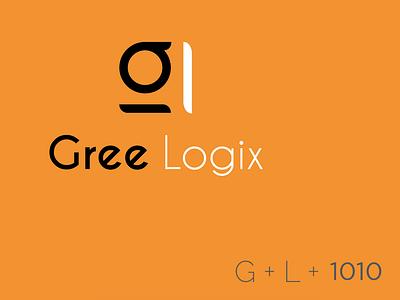 GL Logo Concept 1 logo design logo