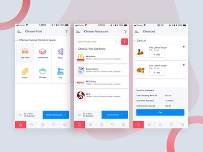 Food Delivery App mobile app restaurant delivery food delivery food business theme design ui