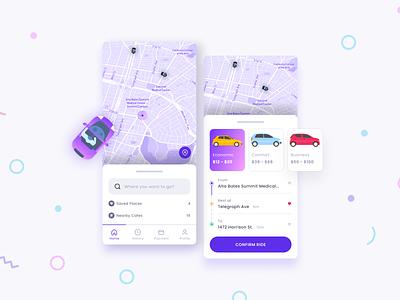 Taxi App travel car riding taxi booking app taxi mobile app theme business design ui
