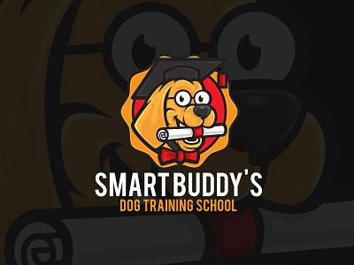 Education & School Logo Ideas school school logo dog logo dog vector logo design animation illustration design branding