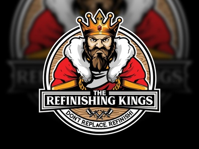 KING CARTOON CHARACTER VECTOR LOGO   Go Logo Now logotype logo design business logo design vector animation webdesign logodesign illustration logo design branding