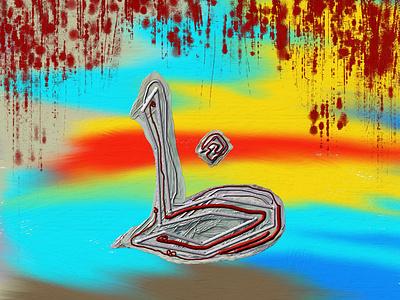 Letter Zha ui ux logo painting vector old illustration graphic design design branding