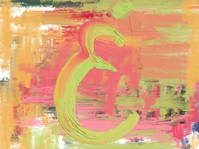 Letter Ghain ux ui logo painting vector old illustration graphic design design branding