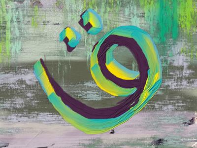 Letter Qaf ux ui logo vector old illustration graphic design design branding painting