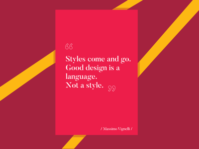 Design Language_Vignelli massimo vignelli style design