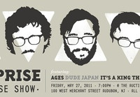 By Surprise Record Release Show Prints