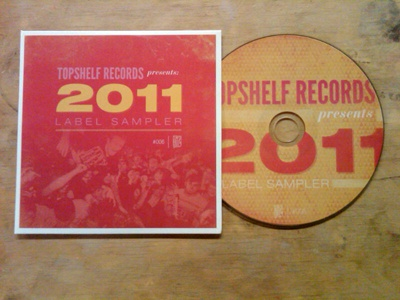 CD face cd topshelf records helvetica league gothic bodoni type print