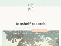 topshelf records 2017 label sampler