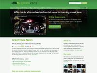 Greenvans homepage
