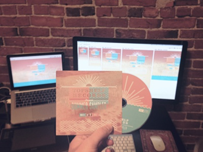 Topshelf Records 2012 Sampler topshelf topshelf records cd print web rwd responsive web design