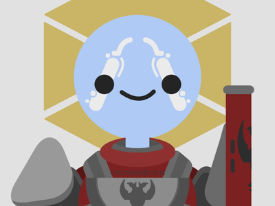 Commander Zavala - Destiny 2 design xbox gaming art icon minimal vector illustrator illustration flat graphic design destiny 2