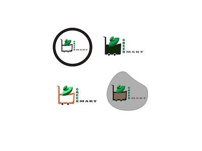 Green Mart vector illustration design