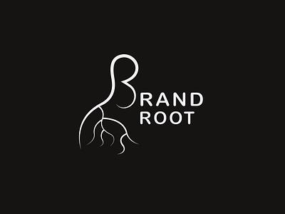 Brand Logo creative typography vector logo design