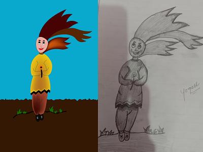 Character Design character characterdesign creative illustration vector design