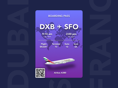 Boarding Pass - Freebie ui ux boarding pass ios app iphone android plane free flight sketch file card