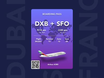 Boarding Pass - Freebie