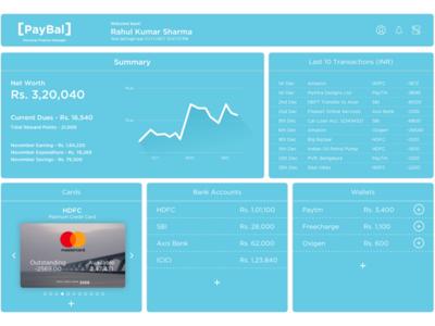 PayBal Finance Dashboard