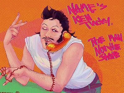 A man named Ken illustration