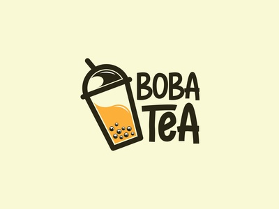 Logo Boba The branding logo design