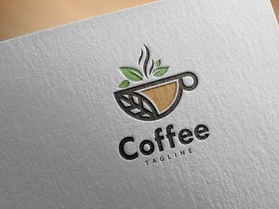 Logo Coffee branding logo design