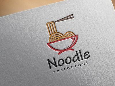Logo Noodle branding logo design