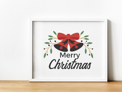 Badge Logo Merry Christmas greeting text invitation celebration background calligraphy card lettering gold typography merry christmas badge vintage holiday design vector banner label illustration