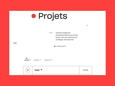 Project - New website Kffein web webgl uidesign webdesign interaction graphic design design animation