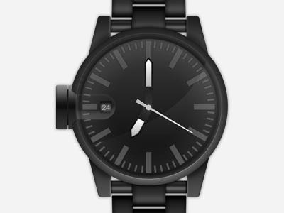 Nixon Watch nixon watch watch black time