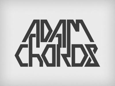 Adam Chords Logo logo dj