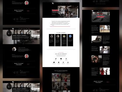Tri City Sports Performance Web Design/Development/Photography web design